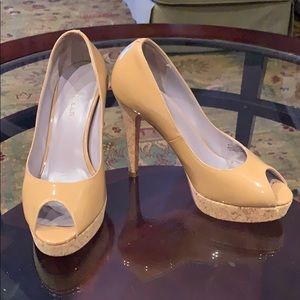 Cole Haan Tan patent shoes
